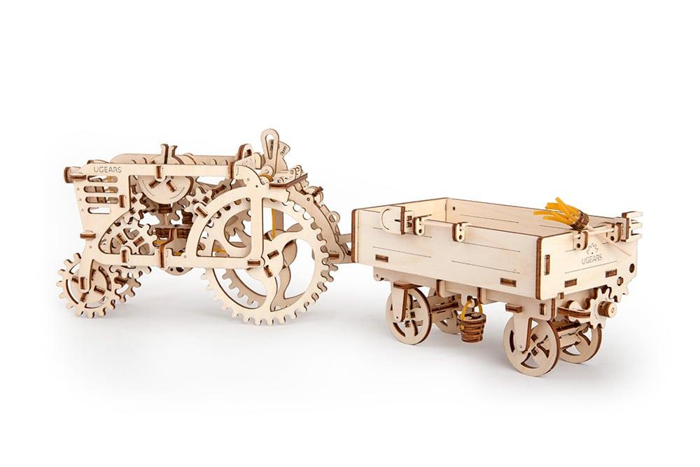 טרקטור ועגלה